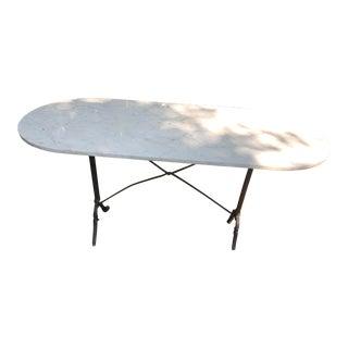 19th Century Paris Bistro Table