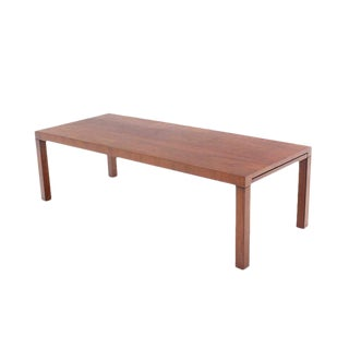 Mid-Century Modern Expandable Walnut Coffee Table by Directional