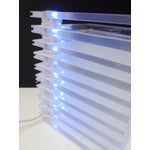 Image of Lucite Plastic Stacking Mood Lamp Light