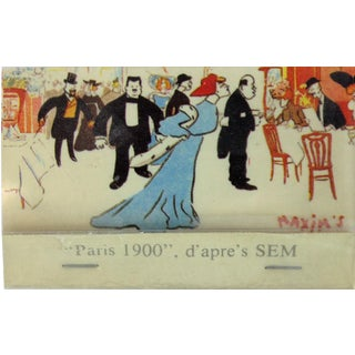 Maxim's of Paris 1950's Matchbook