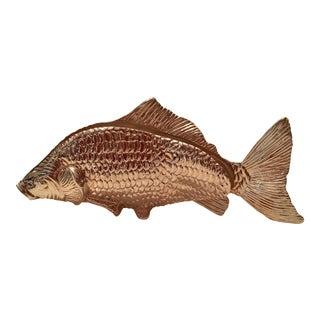 Silver Plate Fish Figurine