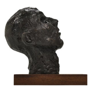 Bronze Bust or Head Sculpture
