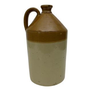 Antique English Stoneware Circulation Jug by Doulton & Co.