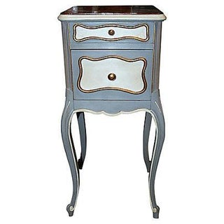 19th C. French Painted Nightstand