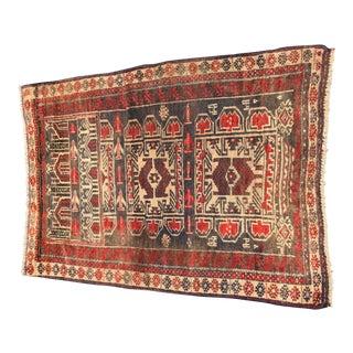 "Vintage Persian Baluchi Rug - 2'6""x3'5"""