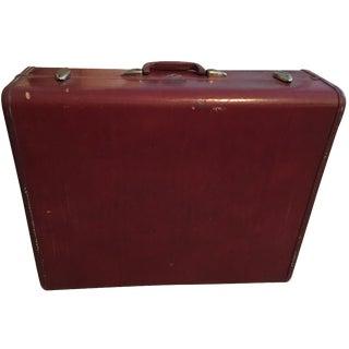 Samsonite Dark Leather Luggage