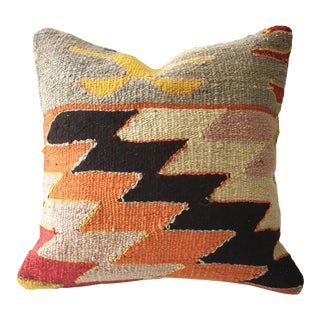 Vintage Square Kilim Pillow Case