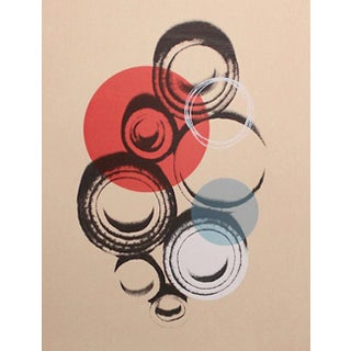 Abstract Art Screenprint by Dana McClure