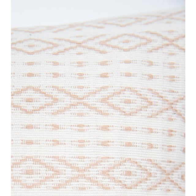 Blush Handwoven Mexican Pillow - Image 2 of 6