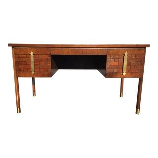 Mid-Century John Stuart Mahogany Desk