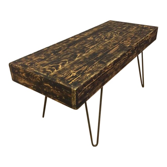 Hairpin Legs Coffee Table Or Bench Chairish