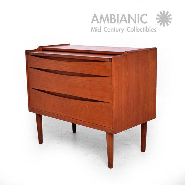 Arne Vodder Secretary Vanity Desk Dresser for Sibast - Image 3 of 10
