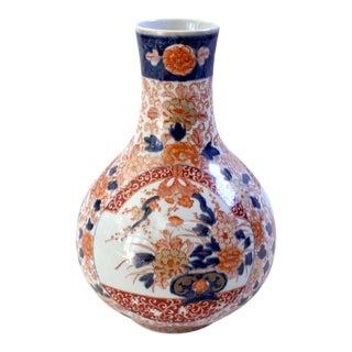 Early 20th-Century Hand-Painted Japanese Imari Vase