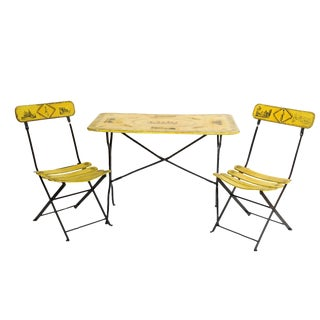 French Soldiers Bistro Dining Set