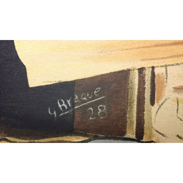 """Georges Braque """"Still Life:The Table"""" Lithograph - Image 4 of 7"""