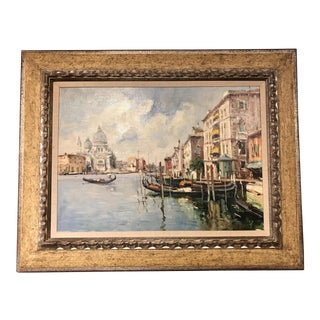 Venetian Canal Oil on Canvas