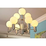 Image of Mid-Century Modern Chrome Chandelier