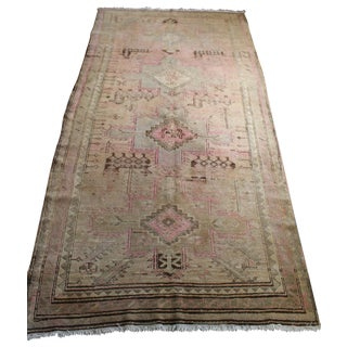 Antique Persian Kazak Rug - 4′4″ × 9′