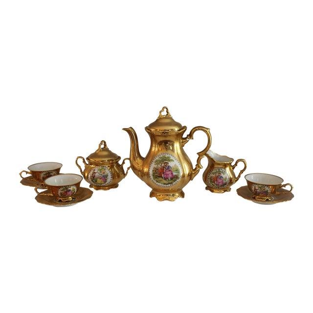 Bavarian 22kt Waldershof Tea Set - Image 1 of 6