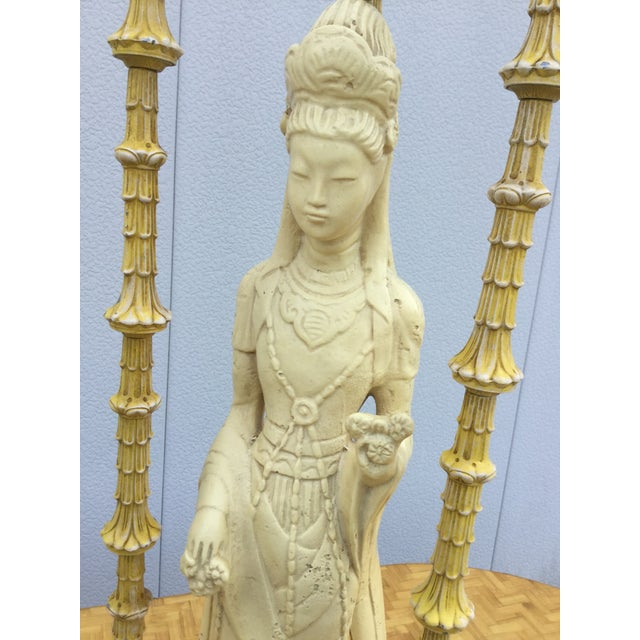 1940's James Mont Style Geisha Table Lamp - Image 6 of 11