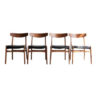 "Hans Wegner ""Ch-23"" Dining Chairs - Set of 4"