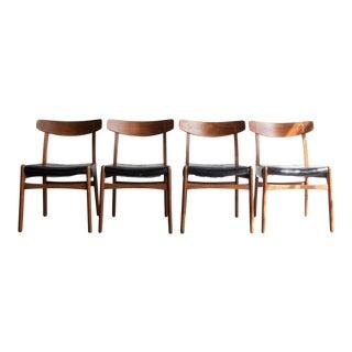 "Hans Wegner ""Ch-23"" Dining Chairs - Set of 4"