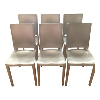 Phillipe Starck for Emeco Hudson Chairs - Set of 6