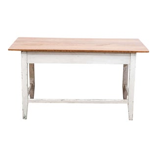 Pine and Beechwood Writing Table