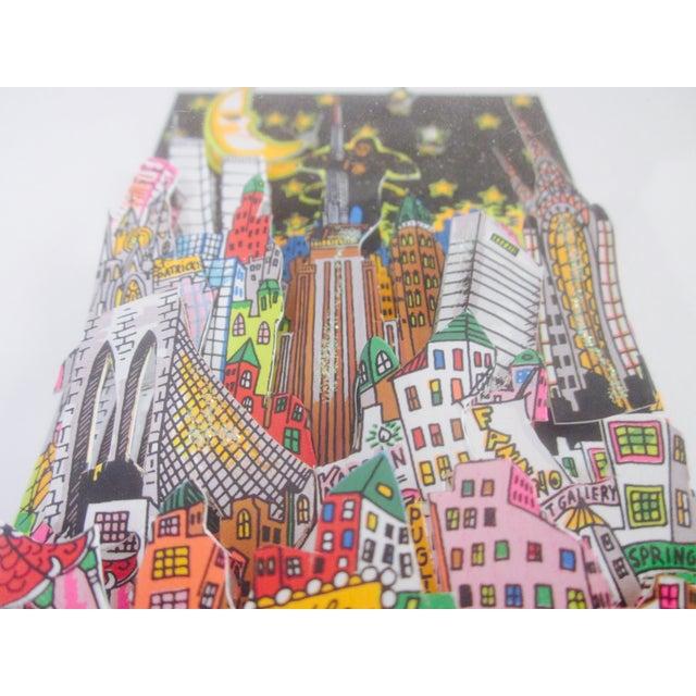 charles fazzino 3d pop art new york city chairish. Black Bedroom Furniture Sets. Home Design Ideas