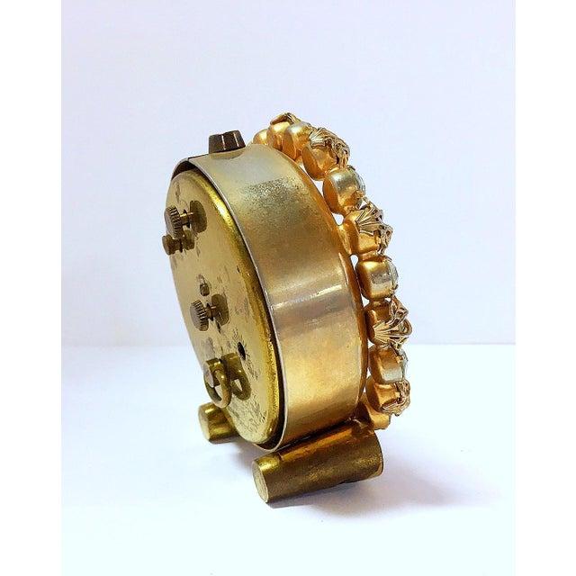 1930s Vintage Phinney-Walker Bejeweled Alarm Clock - Image 6 of 8