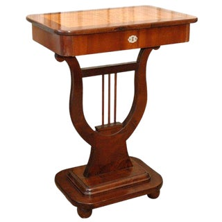 Lyre Based Table