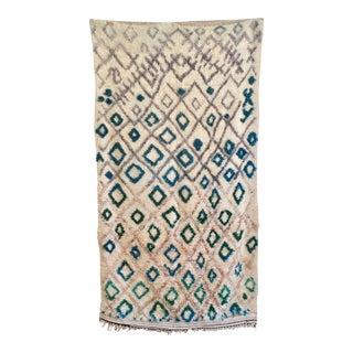 Vintage Moroccan Boujad Rug - 5′2″ × 9′10″