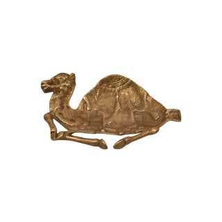 Brass Camel Ashtray