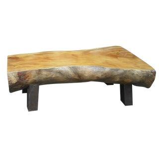 Olive Wood Bench