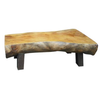 Olive Wood Bench