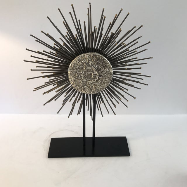 Modern Sunburst Sculpture - Image 4 of 6