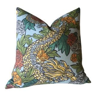 Ming Dragon Pillow Cover