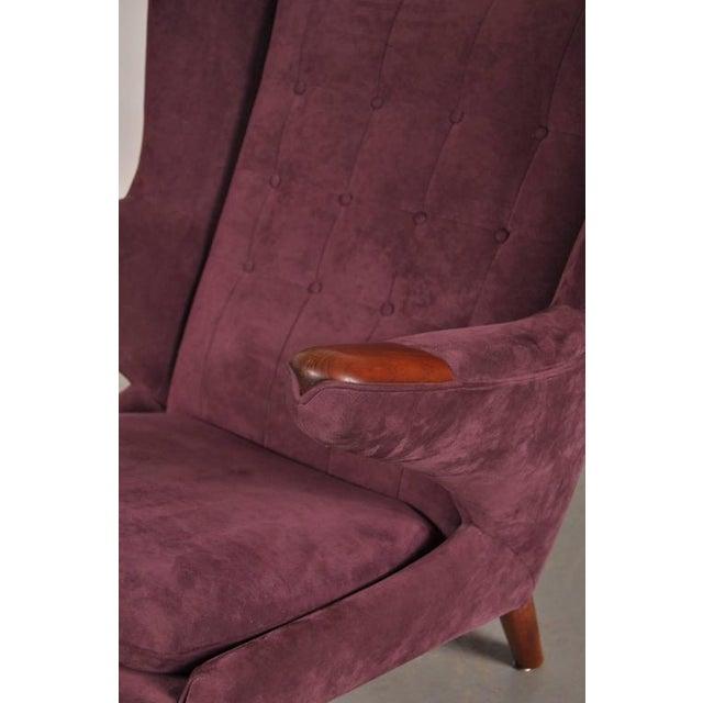 """""""Papa Bear"""" Chair by Hans J. Wegner for A.P. Stolen, Denmark, circa 1950 - Image 7 of 8"""