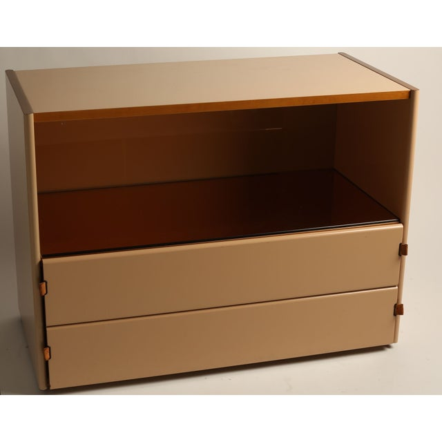 Italian Lacquer Peach Bar/Chest - Image 2 of 5