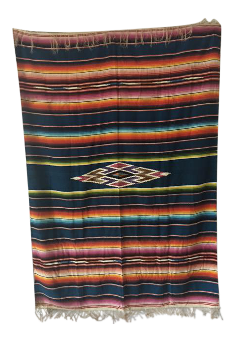 This vintage mexican blanket Nurse