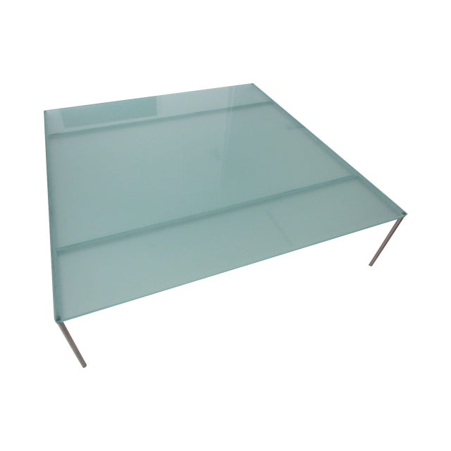 Frosted Crystal Coffee Table Chairish
