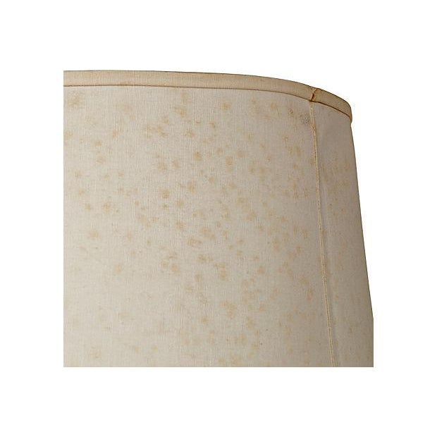 Image of 1970's Leather-Based Lamp
