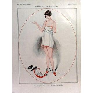 """Fabien Fabiano 1924 La Vie Parisienne """"Glues & Clamps"""" Print"""