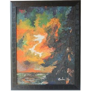 Abstract Landscape by Charles Dix