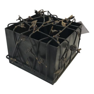 Sculptural Decorative Metal Box