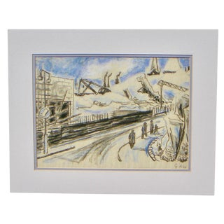 Gustav Alexanderson Swedish Industrial Drawing