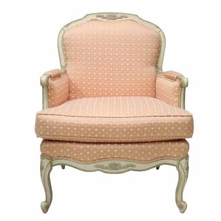 French Style Peach Bergère