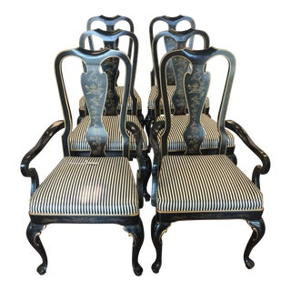 Drexel Heritage Chinoiserie Chairs - Set of 6