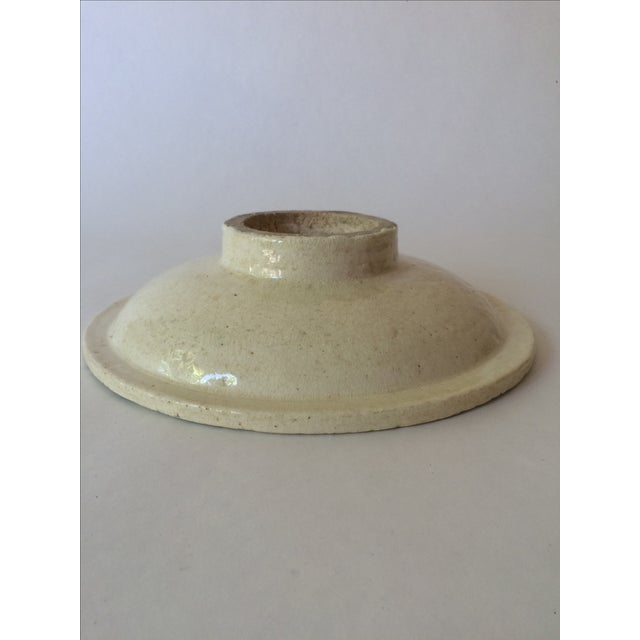 Vintage Footed Ceramic Bowl - Image 11 of 11