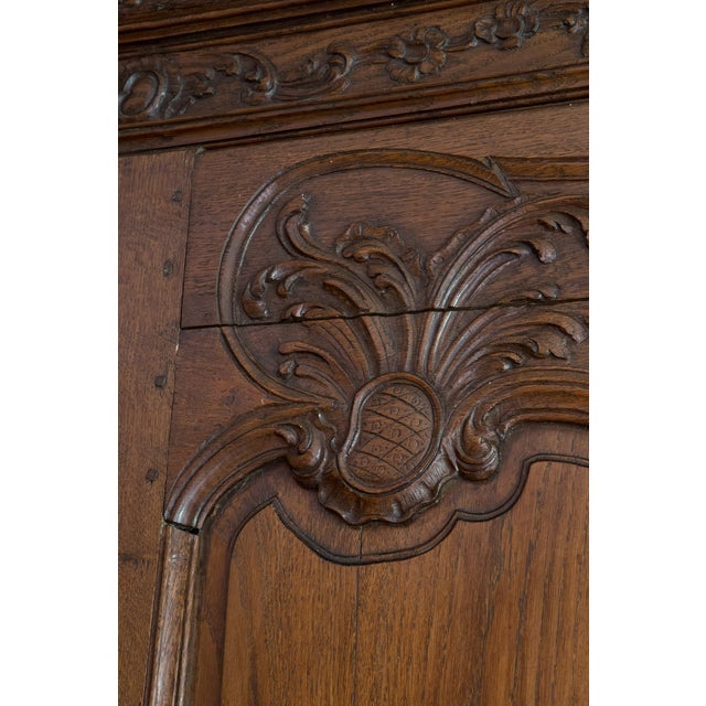 French Oak Armoire from Normandy - Image 5 of 10